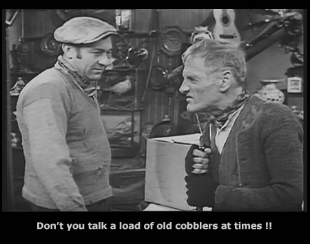 Harry H. Corbett and Wilfrid Brambell in Steptoe and Son Full House