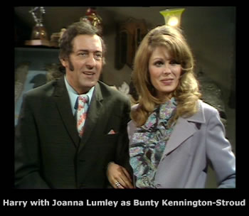Harry H. Corbett and Joanna Lumley in Steptoe and Son