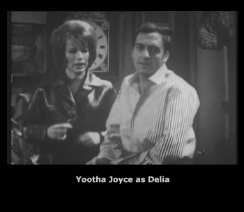 Yootha Joyce as Delia in Steptoe and Son - The Bath
