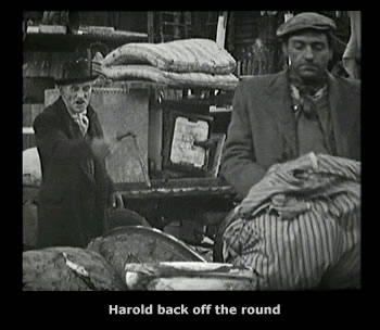 Steptoe and Son - The Offer, Harold back of the round