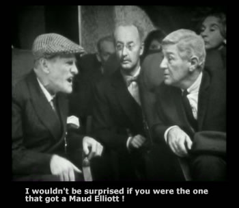 Wilfrid Brambell and Frank Thornton in Steptoe and Son