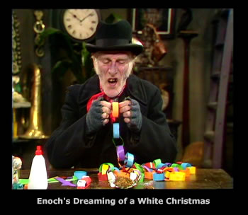 Steptoe and Son Christmas 1973  -  Enoch's Dreaming of a White Christmas